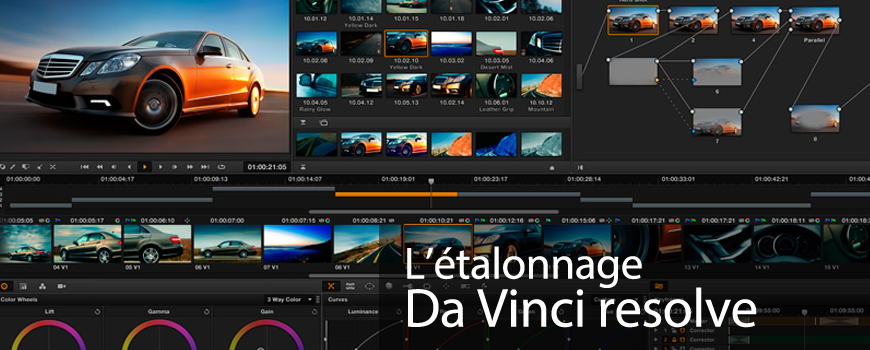 Étalonnage – Da Vinci Resolve