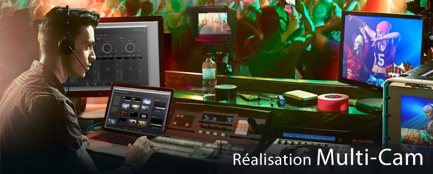 Réalisation Multicameras HD