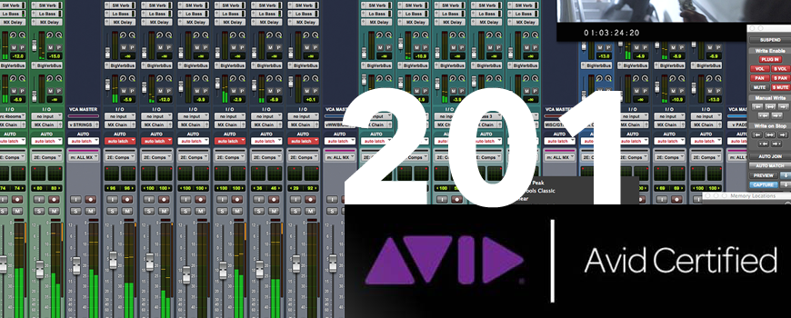 Certification 201 Protools