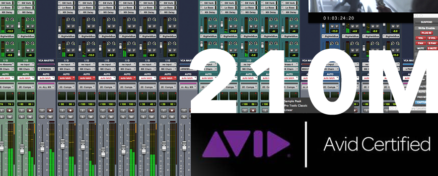 Certification 210M Protools