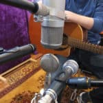 Microphone guitare