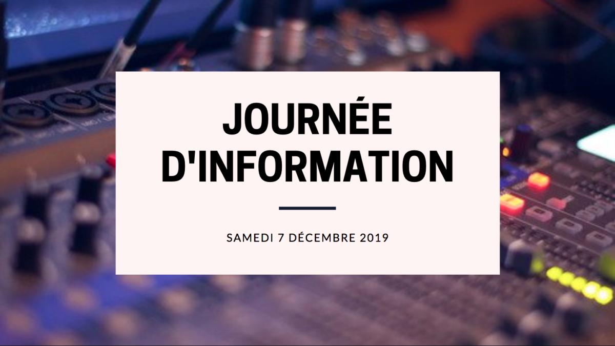Journée d'information 2019